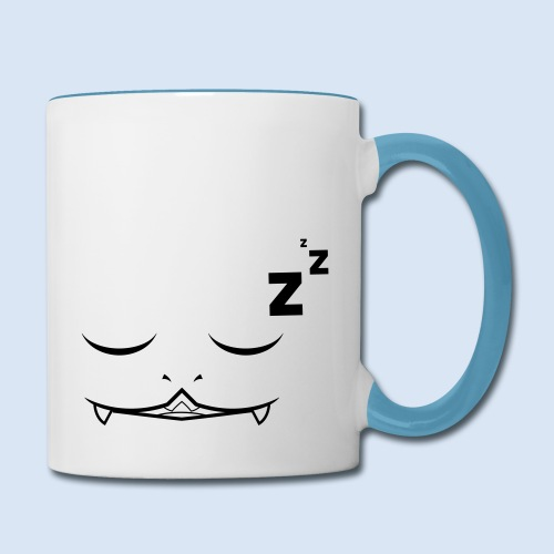 Sleepy Porynaz (Contrast Mug) - Contrast Coffee Mug