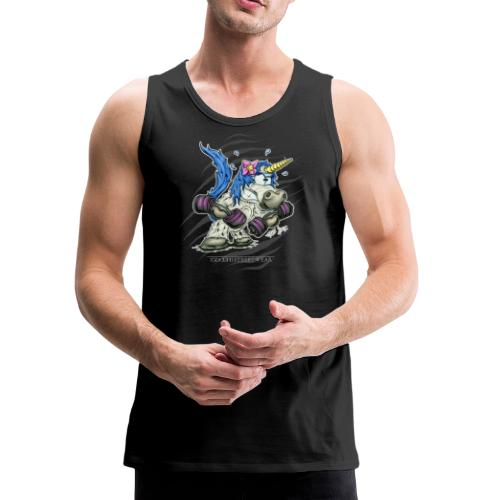 Train like a unicorn blue - Men's Premium Tank