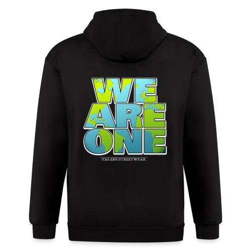 We are One - Men's Zip Hoodie