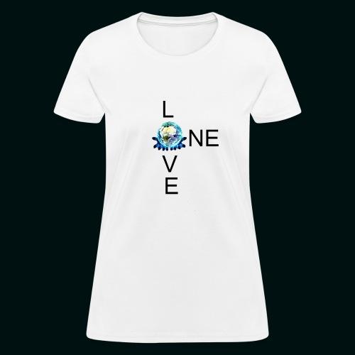 One Love FM - Women's T-Shirt