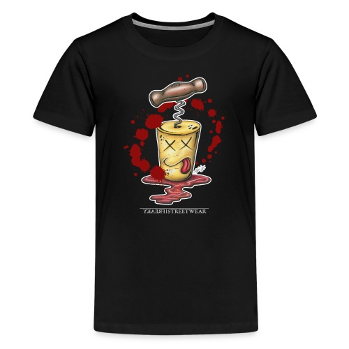 murdered redwine-cork - Kids' Premium T-Shirt