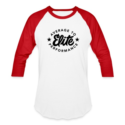 Average To Elite Star Baseball Shirt - Baseball T-Shirt
