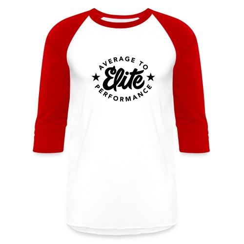 Average To Elite Star Baseball Shirt - Baseball T-Shirt
