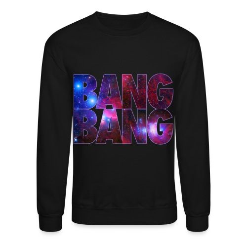 Galaxy Foamposite Bang Bang Sweatshirt By Skytop - Crewneck Sweatshirt