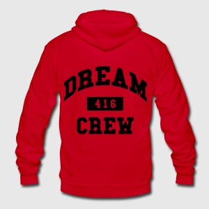 Dream Crew 416 Zip Hoodies/Jackets - Unisex Fleece Zip Hoodie by American Apparel