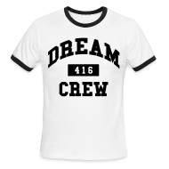T-Shirts ~ Men's Ringer T-Shirt by American Apparel ~ Dream Crew 416 T-Shirts