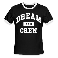 T-Shirts ~ Men's Ringer T-Shirt by American Apparel ~ Dream Crew 416 T-Shirts