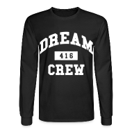 Long Sleeve Shirts ~ Men's Long Sleeve T-Shirt ~ Dream Crew 416 Long Sleeve Shirts