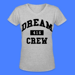 Dream Crew 416 Women's T-Shirts - Women's V-Neck T-Shirt