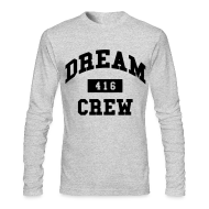 Long Sleeve Shirts ~ Men's Long Sleeve T-Shirt by Next Level ~ Dream Crew 416 Long Sleeve Shirts