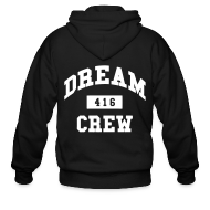 Zip Hoodies & Jackets ~ Men's Zip Hoodie ~ Dream Crew 416 Zip Hoodies/Jackets