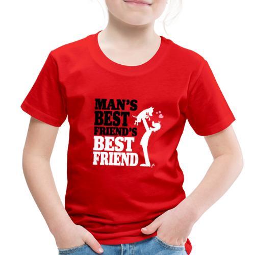 Man's best friend's best friend - Toddler Premium T-Shirt
