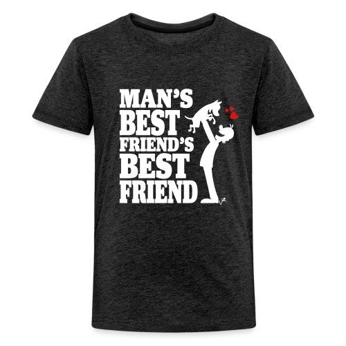 Man's best friend's best friend - Kids' Premium T-Shirt