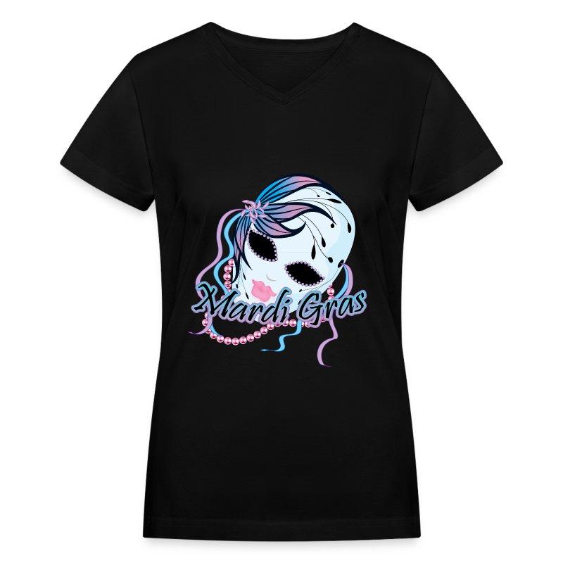 New Orleans Mardi Gras Mask T Shirt Spreadshirt