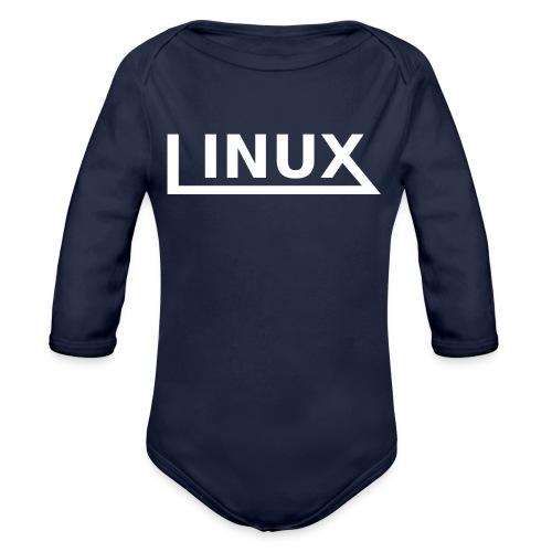 Linux - Organic Long Sleeve Baby Bodysuit