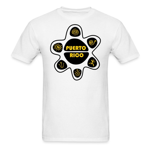 Sol Taino Símbolos de PR T-Shirts MEN - Men's T-Shirt