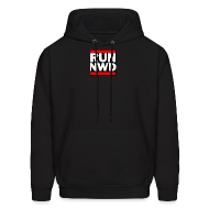Hoodies ~ Men's Hoodie ~ Run Next Week Doe Hooded Sweatshirt