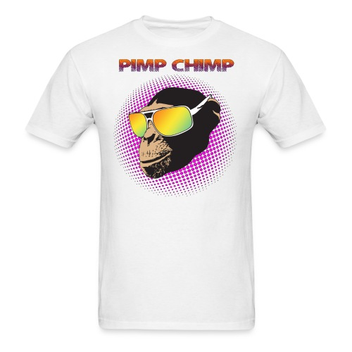 Pimp Chimp Shirt - Men's T-Shirt