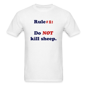 Do NOT kill sheep [Men's] - Men's T-Shirt