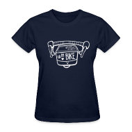 Women's T-Shirts ~ Women's T-Shirt ~ Go By Bike