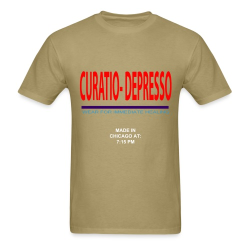 Curatio Depresso Band-Aid Tee  - Men's T-Shirt