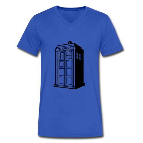 Dr.Who - Men's V-Neck T-Shirt by Canvas