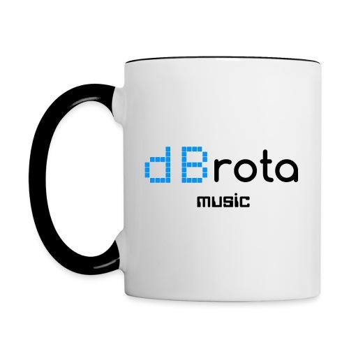 dBrota Music Mug - Contrast Coffee Mug