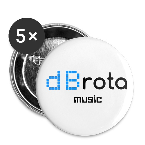 dBrota Music Small Buttons (Pack of 5) - Small Buttons
