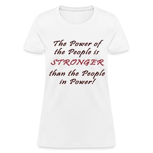 Stronger T-Shirt - Womens - Women's T-Shirt