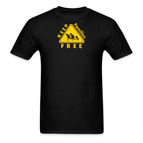 Keep Families FREE - Men's T-Shirt