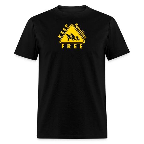 Keep Families FREE - Men's T-Shirt