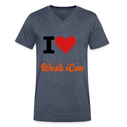 Men's V-Neck T-Shirt by Canvas - For all our fans