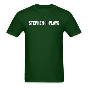 StephenPlays Logo - White (Men's) - Men's T-Shirt