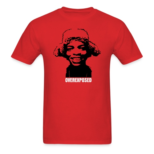 OverExposed Red - Men's T-Shirt