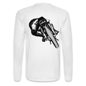 Cafe Racer on the Lean - Men's Long Sleeve T-Shirt