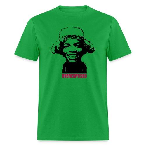 OverExposed Green - Men's T-Shirt