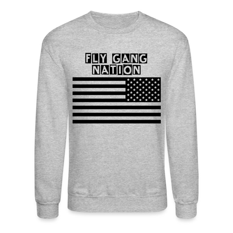 American Flag Subdued Tactical Reversed - Crewneck Sweatshirt