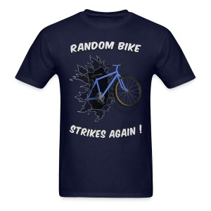 Random Bike Strikes Again! - Men's T-Shirt