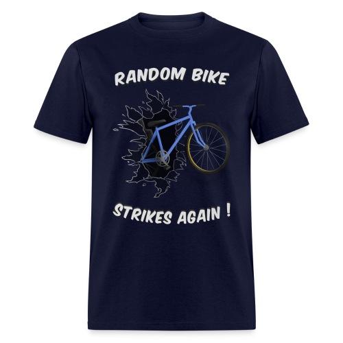 Random Bike Strikes Again! - Men's T-Shirt