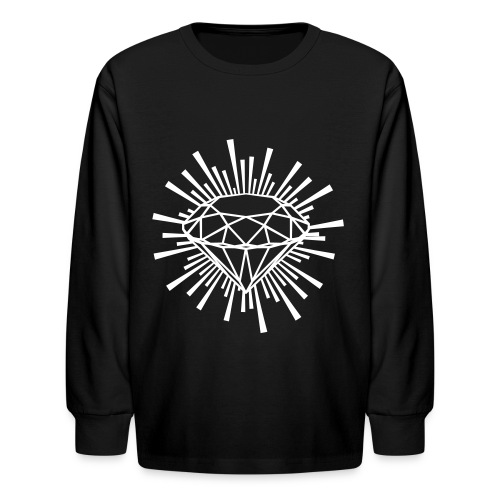 Kids Longsleeve Diamond Shirt - Kids' Long Sleeve T-Shirt