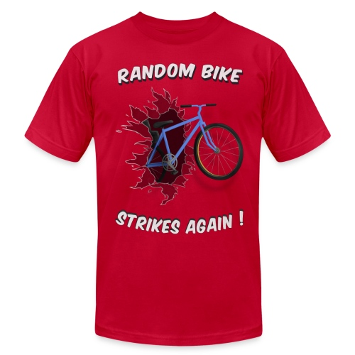 Random Bike Strikes Again! - Men's Fine Jersey T-Shirt