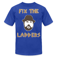 T-Shirts ~ Men's T-Shirt by American Apparel ~ Fix The Ladders