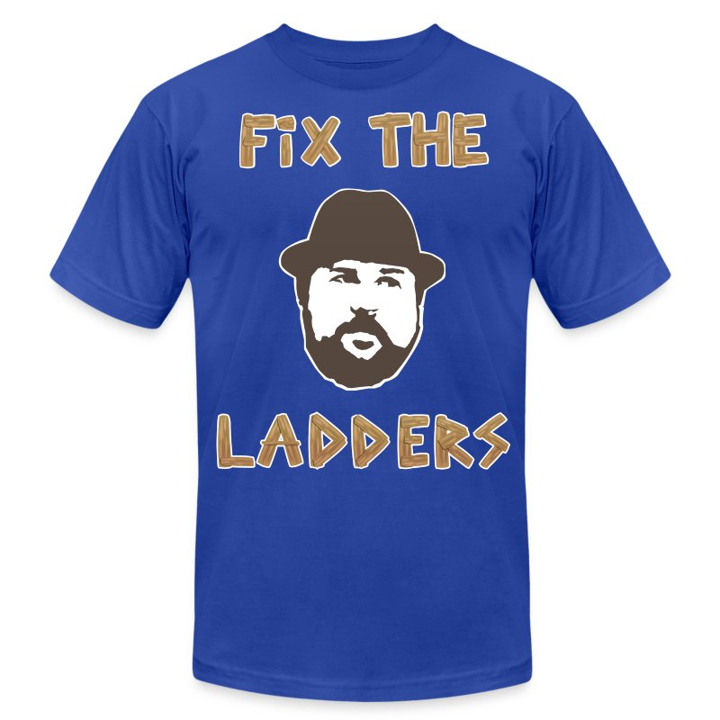 Fix The Ladders - Men's T-Shirt by American Apparel