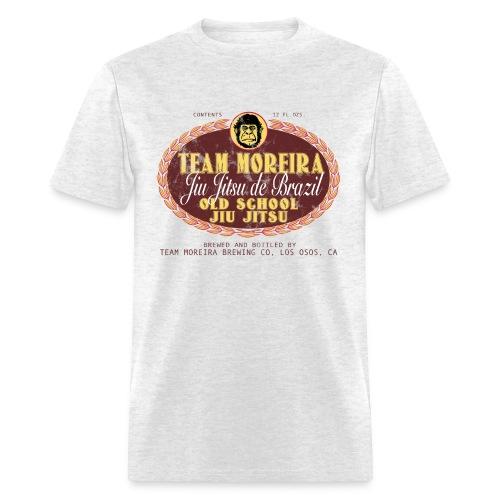 Team Moreira Aged Beer Label - Light Heather Gray - Men's T-Shirt