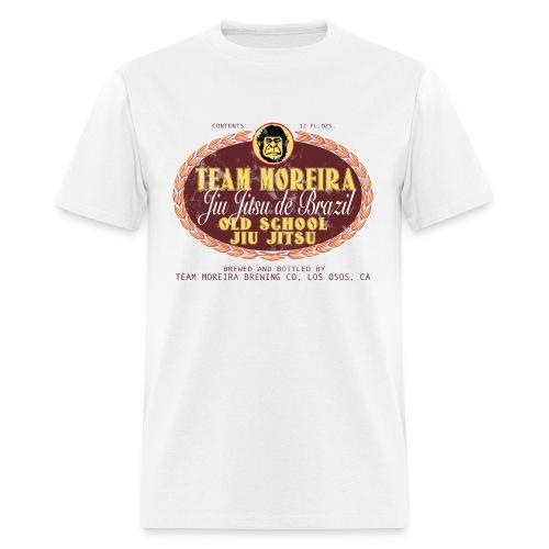 Team Moreira Aged Beer Label - White Shirt - Men's T-Shirt