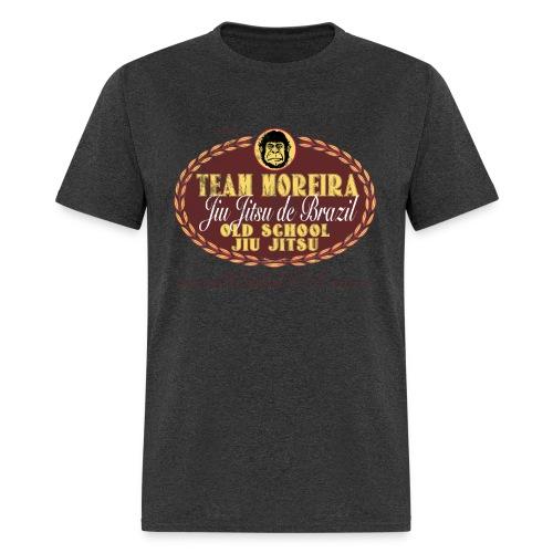 Team Moreira Aged Beer Label - Heather Black Shirt - Men's T-Shirt