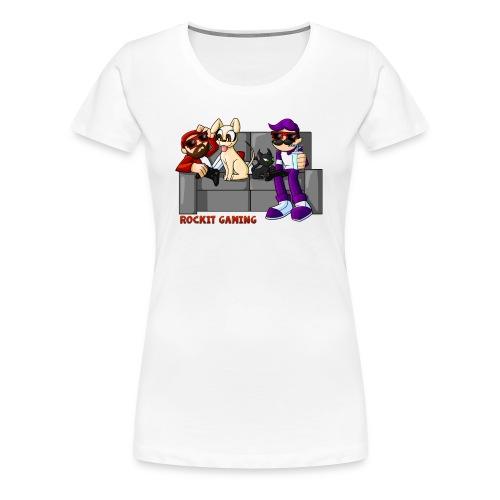 Couch Party Season 2: Women's Shirt - Women's Premium T-Shirt