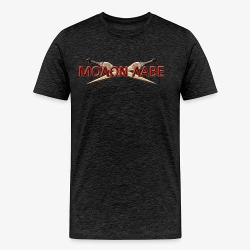 Molon Labe! A (Men) - Men's Premium T-Shirt