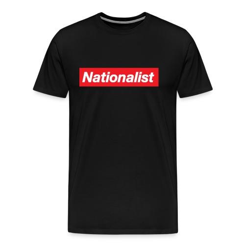 Nationalist logo - Men's Premium T-Shirt