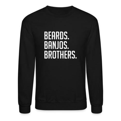 BEARDS BANJOS BROTHERS - Crewneck Sweatshirt